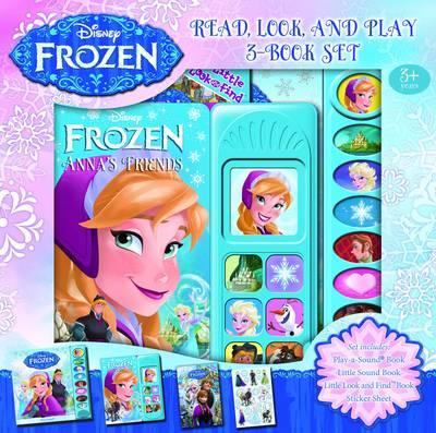 Read, Look & Play Disney Frozen by Disney