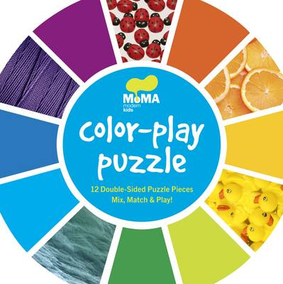 MoMA Color Wheel Puzzle by New York Museum of Modern Art
