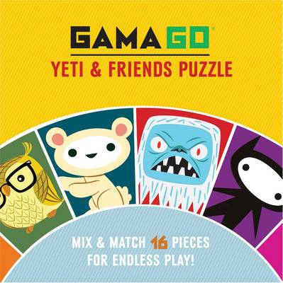 Gamago Yeti & Friends Puzzle by GAMAGO