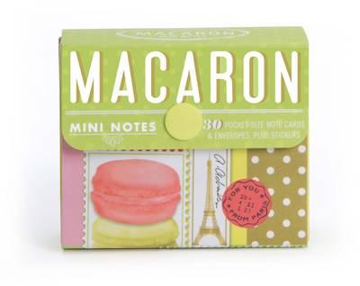 Macaron Mini Notes by Chronicle Books