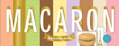 Macaron Matching Game by Chronicle Books