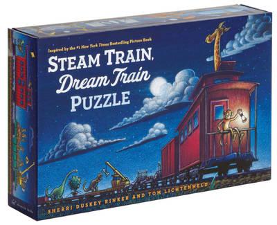 Steam Train, Dream Train Puzzle by Tom Lichtenheld, Sherri Duskey Rinker