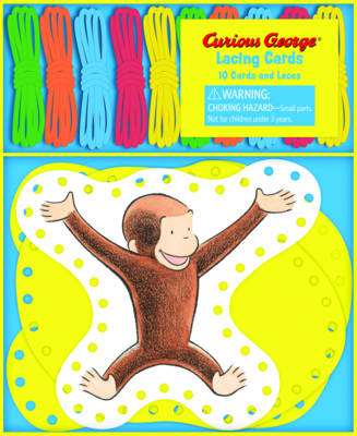 Curious George Lacing Cards by H. A. Rey