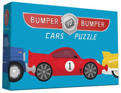 Bumper-to-Bumper Cars Puzzle by Chronicle Books