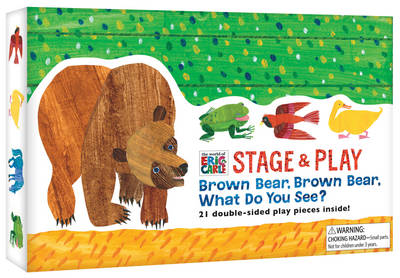 The World of Eric Carle Stage & Play Brown Bear, Brown Bear, What Do You See? by Eric Carle