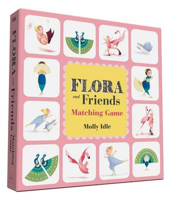 Flora and Friends Matching Game by Molly Idle