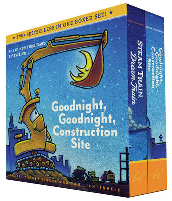Goodnight, Goodnight, Construction Site and Steam Train, Dream Train Boxed Set by Sherri Duskey Rinker