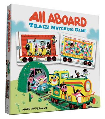 All Aboard Train Matching Game by Marc Boutauant