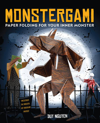 Monstergami Paper Folding for Your Inner Monster by Duy Nguyen