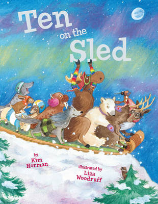 Ten on the Sled by Kim Norman