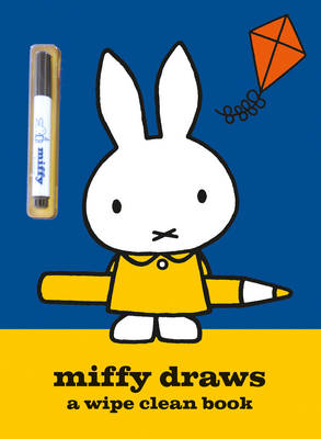 Miffy Draws A Wipe Clean Book by Simon & Schuster UK