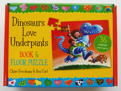 Dinosaurs Love Underpants Book and Jigsaw by Claire Freedman, Ben Cort