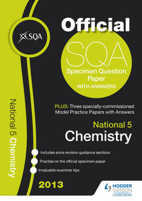 SQA Specimen Paper National 5 Chemistry by SQA