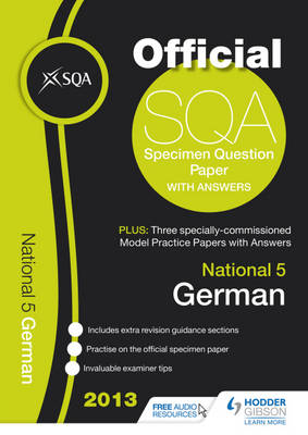 SQA Specimen Paper National 5 German and Model Papers by SQA