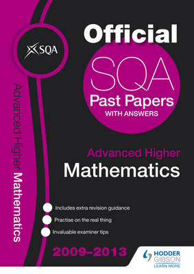 SQA Past Papers Advanced Higher Mathematics by SQA