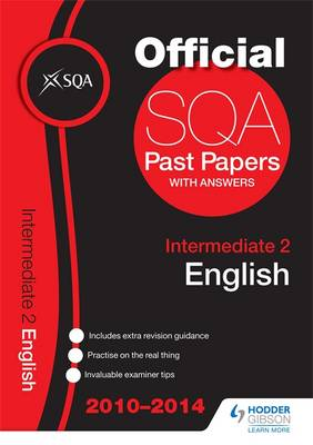 SQA Past Papers 2014-2015 Intermediate 2 English by SQA