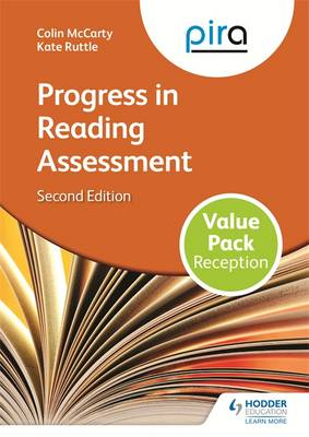 PiRA Reception Value Pack Progress in Reading Assessment by Colin McCarty, Kate Ruttle