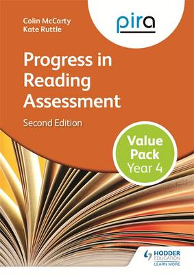 PIRA Year 4 Value Pack Progress in Reading Assessment by Colin McCarty, Kate Ruttle