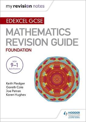 Edexcel GCSE Maths Foundation: Mastering Mathematics Revision Guide by Keith Pledger