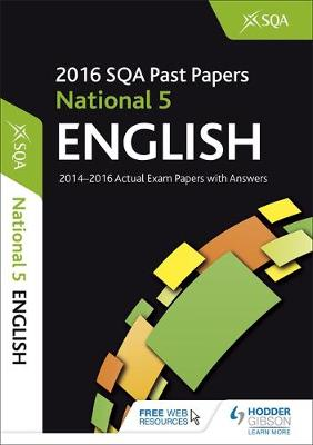 National 5 English 2016-17 SQA Past Papers with Answers by SQA
