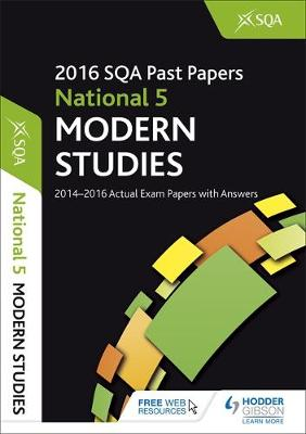 National 5 Modern Studies 2016-17 SQA Past Papers with Answers by SQA