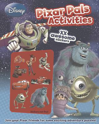 Disney Pixar Pals Activities by