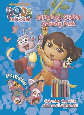 Dora the Explorer Colouring, Sticker Activity Pack by