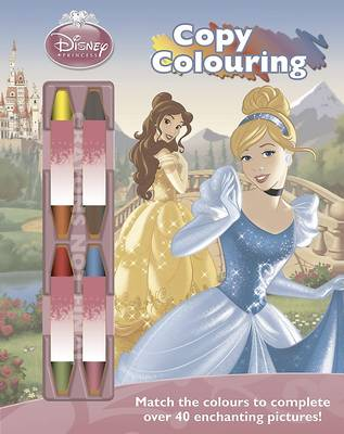 Disney Princess Copy Colouring by