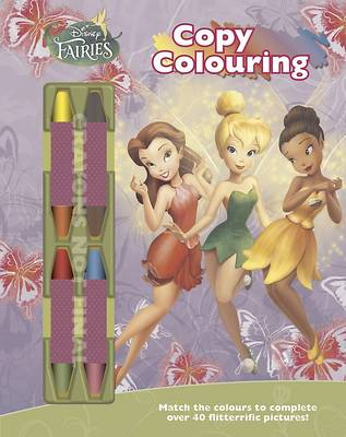 Disney Fairies Copy Colouring by