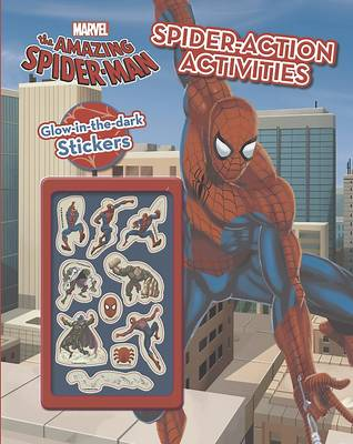 Marvel Spider-Man Web-Head Activity Book by