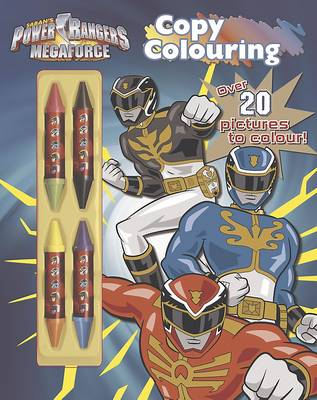 Power Rangers Copy Colouring Over 20 pictures to colour! by