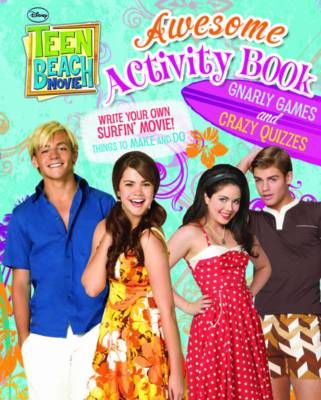 Disney Teen Beach Movie Activity Book by