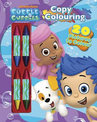 Nickelodeon Bubble Guppies Copy Colouring by