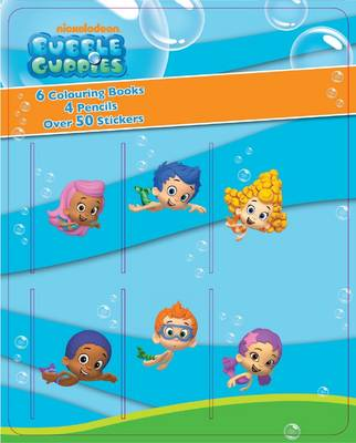 Bubble Guppies Mini Colouring Book & Pencil Set by