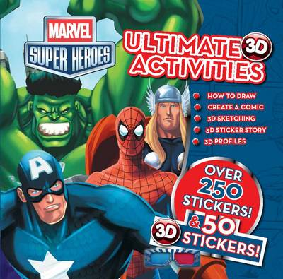 Marvel Super Heroes 3d Ultimate Hero Activities by