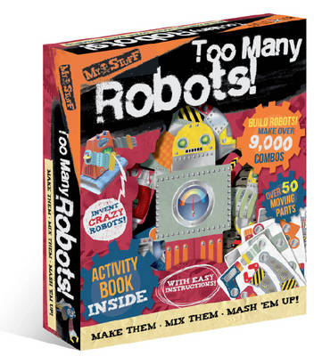 My Stuff Too Many Robots! (Build and Invent Activity Set) by