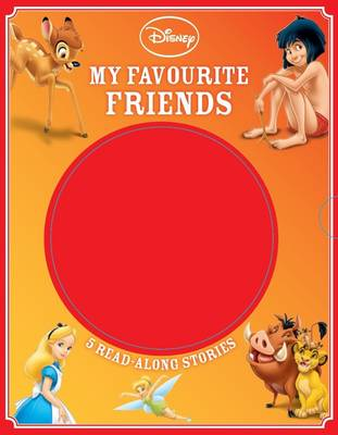 Disney My Favourite Friends 5 Read-Along Stories by