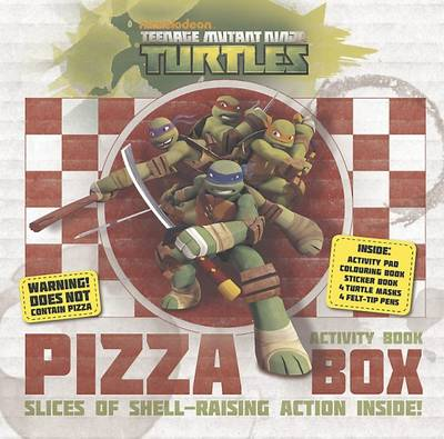 Teenage Mutant Ninja Turtles Activity Box by