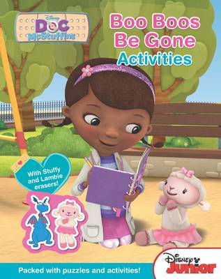 Disney Junior Doc Mcstuffins Boo-Boos be Gone Activities by