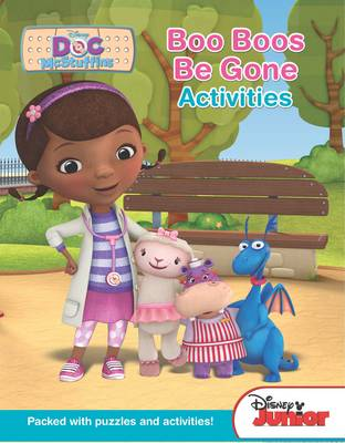 Disney Junior Doc Mcstuffins Boo Boos be Gone Activities by