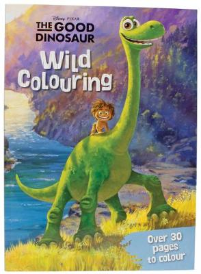 Disney Pixar the Good Dinosaur Wild Colouring by