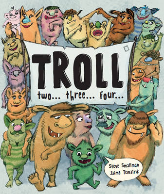 Troll Two Three Four (Picture Story Book) by