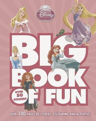 Disney Princess Big Book of Fun by