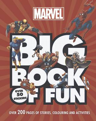 Marvel Big Book of Fun by