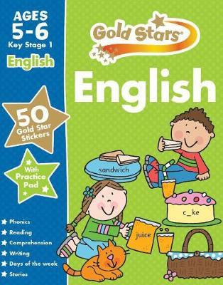 Gold Stars English Ages 5-6 Key Stage 1 by Parragon Books Ltd