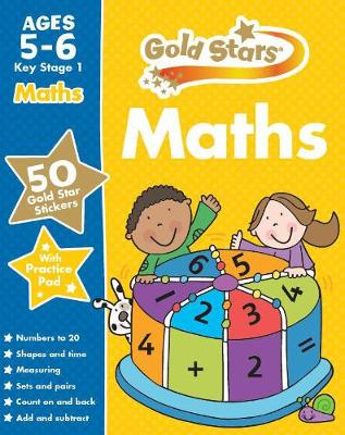 Gold Stars Maths Ages 5-6 Key Stage 1 by