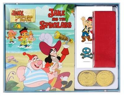 Disney Junior Jake and the Never Land Pirates Read and Play Pirate Set by