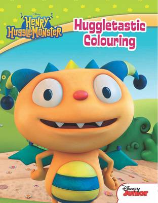 Disney Junior Henry Hugglemonster Huggletastic Colouring by