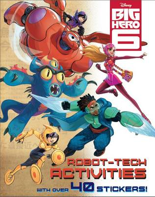 Disney Big Hero 6 Activity Book by