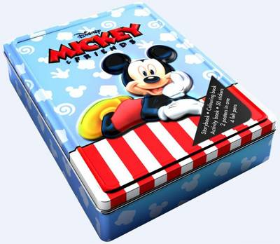 Disney Mickey Mouse Happy Tin by